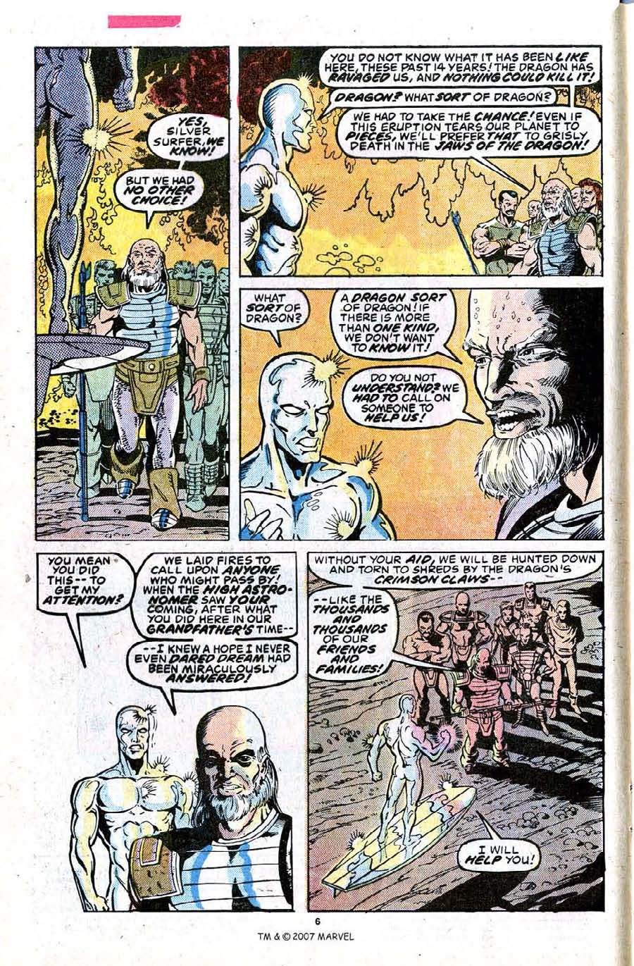 Read online Silver Surfer (1987) comic -  Issue #23 - 8