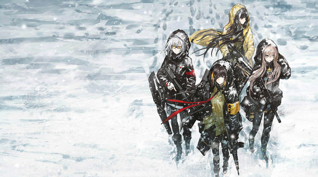 Girl Front Line Winter War Wallpaper Engine Free
