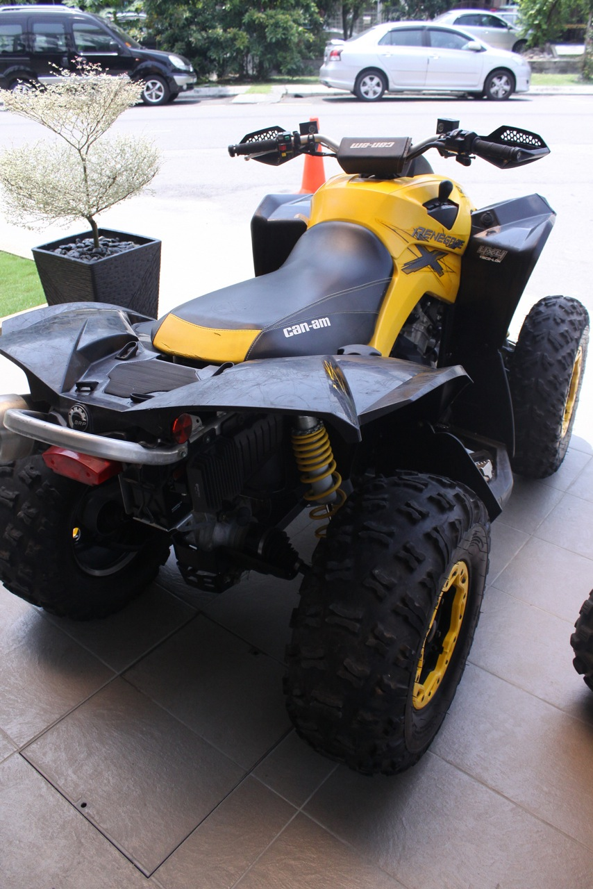 malaysian 4wheelers 2013 can am renegade atv for sale. Black Bedroom Furniture Sets. Home Design Ideas