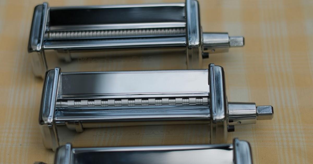 Demi-demi blog: Machine à pâtes KitchenAid - pasta casa trop faciles