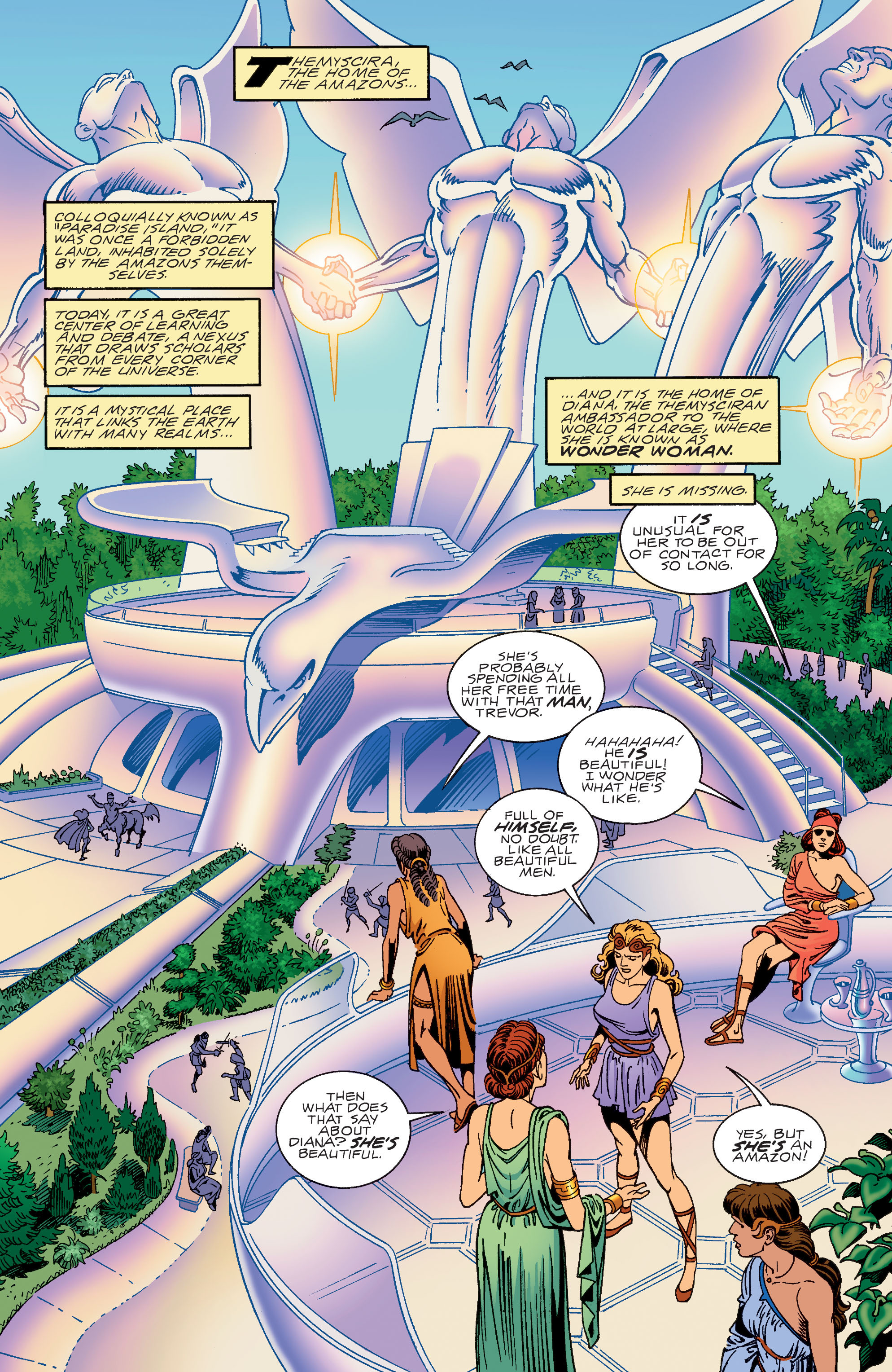 Read online Wonder Woman (1987) comic -  Issue #191 - 2