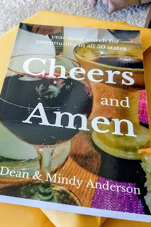 Cheers and Amen, a 50-state adventure by Dean and Mindy Anderson