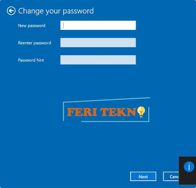 Menghapus password pada windows - Feri Tekno