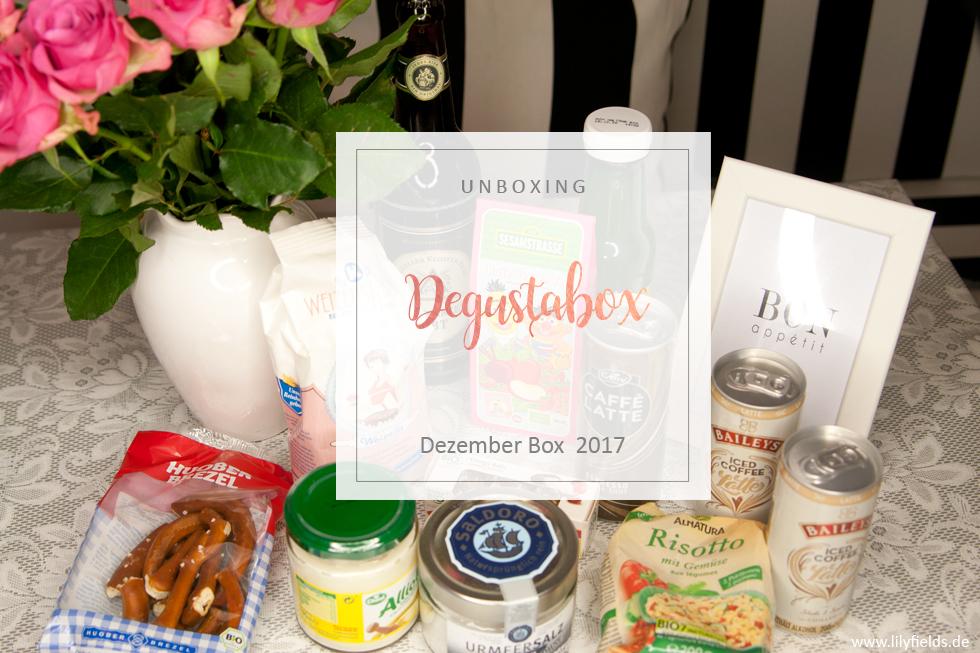 Degustabox - Dezember 2017 - unboxing