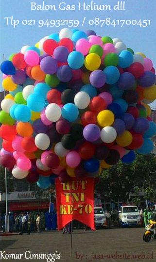 menerima pesanan balon gas helium dll