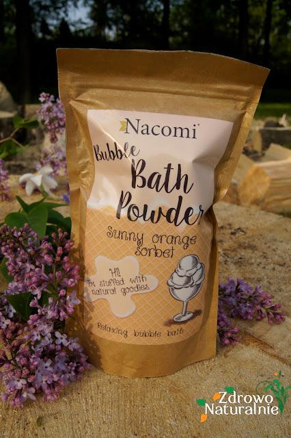 Nacomi  - Puder do kąpieli pomarańczowy sorbet
