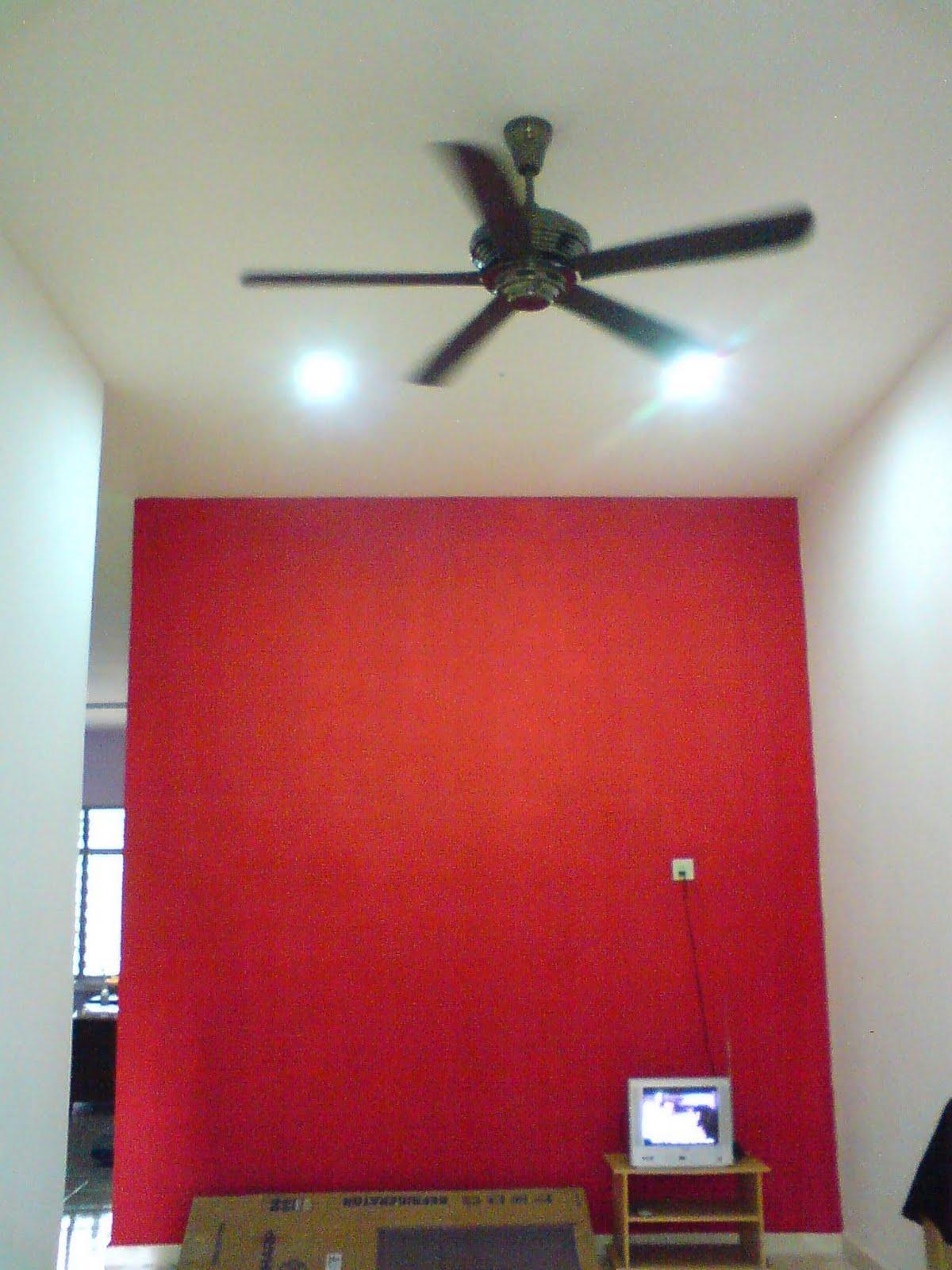 Ini Ruang Tamu Konsep Adalah Modern So Ni Nnt Akan Dipenuhi Dgn Segala Brg Yg Berwarna Merah Hitam Dan Putih Hehe