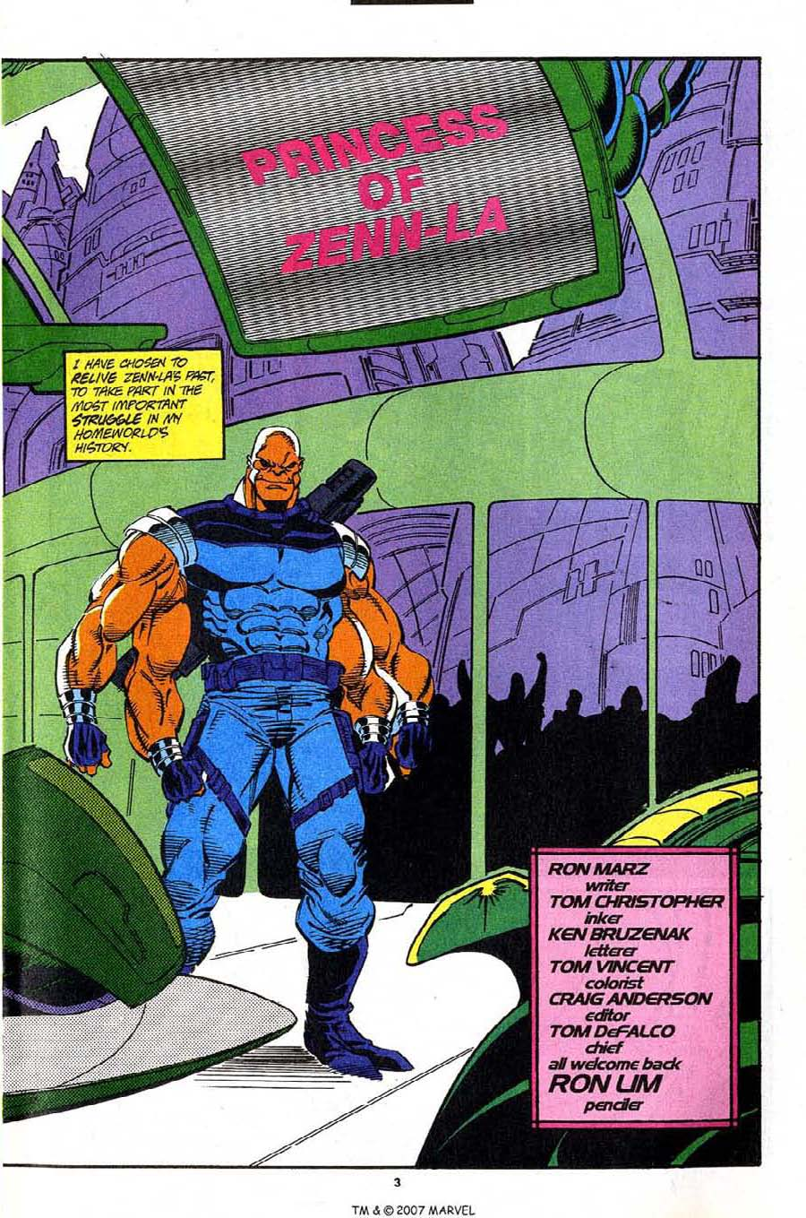 Read online Silver Surfer (1987) comic -  Issue #91 - 5