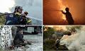 Οι υπεράνθρωπες προσπάθειες των πυροσβεστών στα μέτωπα της φωτιάς (φώτο)