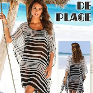 robe de plage tunique. Black Bedroom Furniture Sets. Home Design Ideas