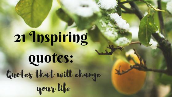 21 inspiring quotes