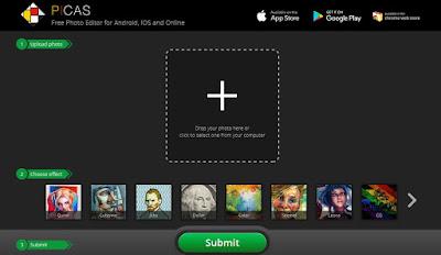 موقع تحويل الصور الى لوحات واعمال فنية اونلاين