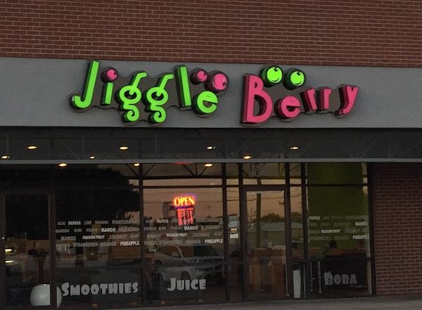 Veggie smoothies at Jiggle Berry Juice Bar in Amarillo