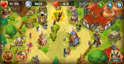 Holy TD Epic Towers Defense APK MOD (Unlimited Money) v1.49