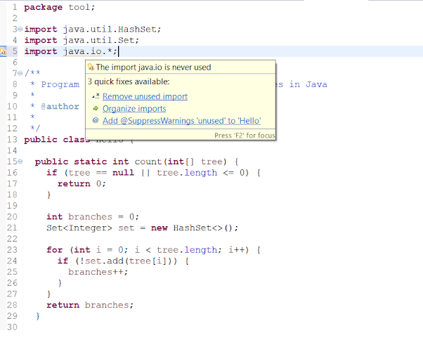 Eclipse Shortcut to Remove all Unused imports in a Java file