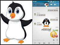 Download BBM Mod Mighty Penguin Apk V3.0.0.18