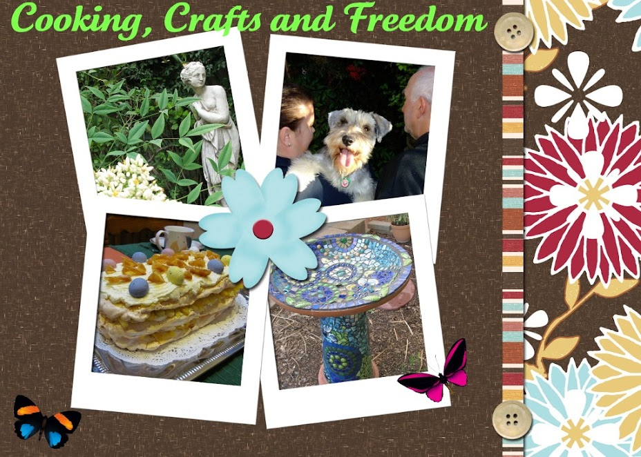 Cooking, Crafts and Freedom