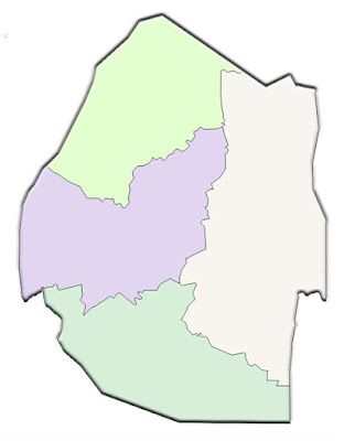 image: Blank color Swaziland map
