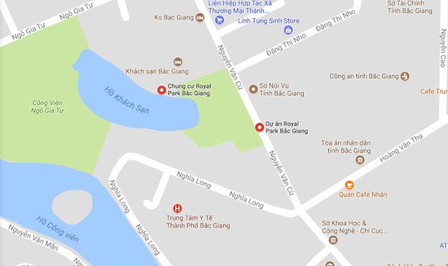 Vị trí Aqua Park Bắc Giang