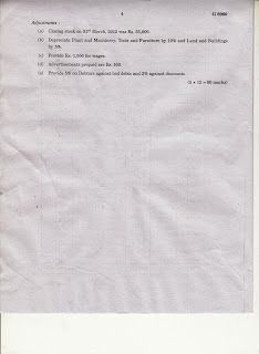 MARIAN LIBRARY: MG University First Sem MBA 2013 Question