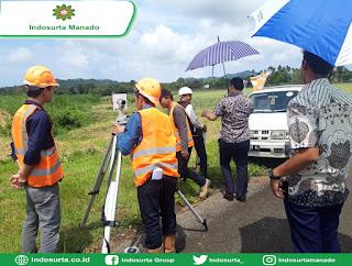 Training Total Station Nikon NPL 322 Di Bandara Samratulangi