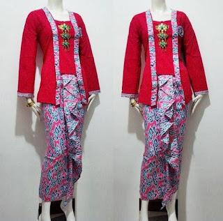 model baju bahan batik dan embos