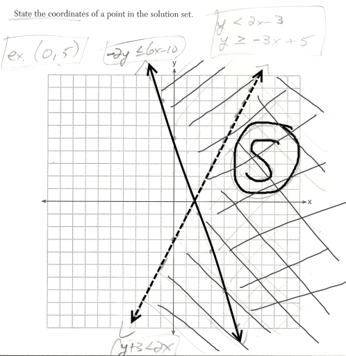 (x, why?): August 2014 Integrated Algebra Regents Exam