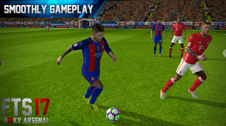 Download Game Android FTS 17 Final Mod Rizky Arsenal Terbaru