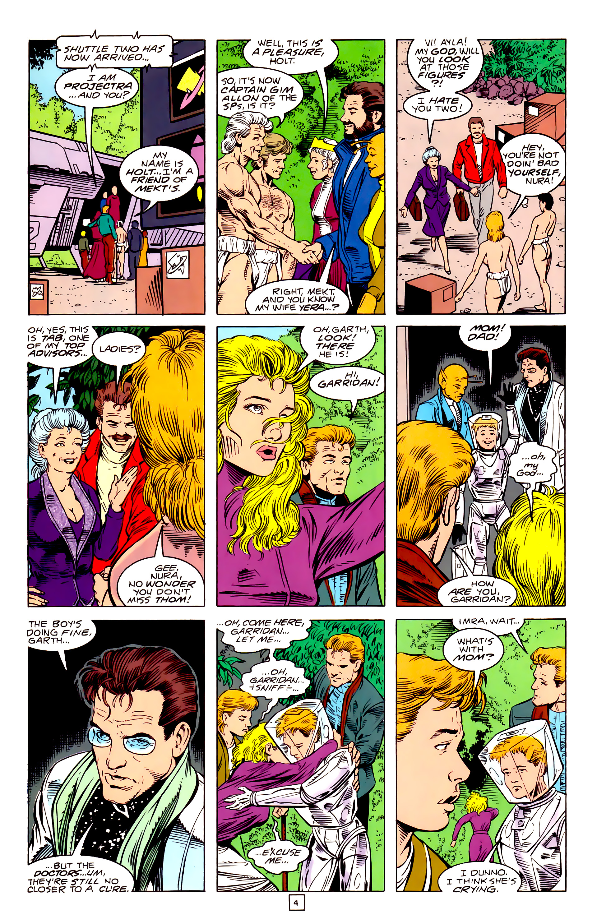 Legion of Super-Heroes (1989) _Annual_3 Page 31