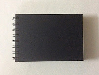Small sketch book with cartridge sheets used for study works by Manju Panchal