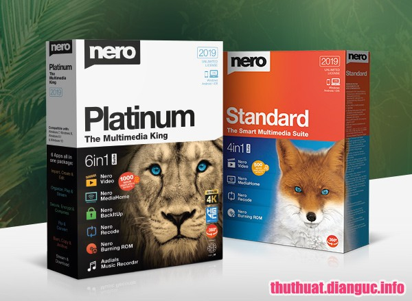 Download Nero Platinum 2019 Suite v20.0.06500 Full Cr@ck