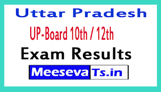 UP-Board 10th / 12th Exam Result 2017