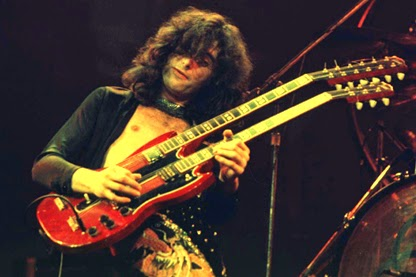 Jimmy page guitarist photo live