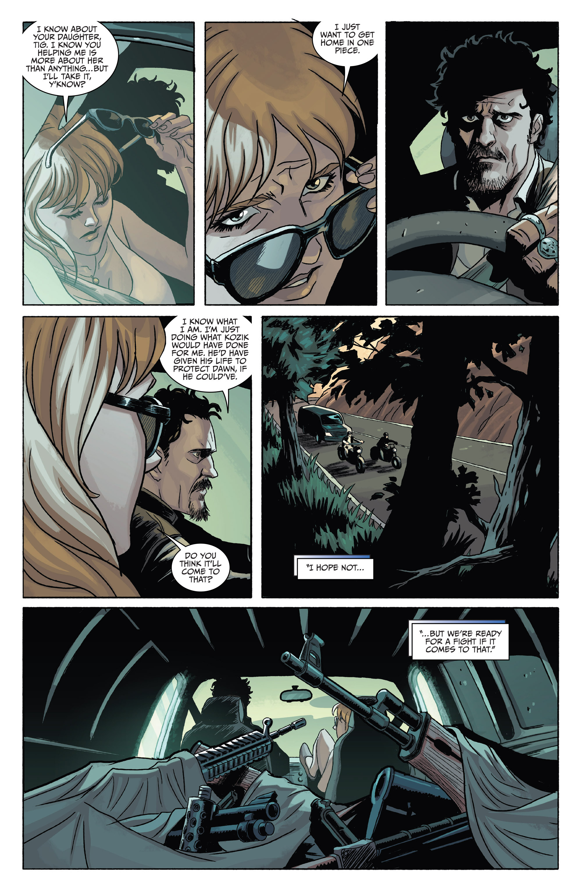 Read online Sons of Anarchy comic -  Issue #4 - 15