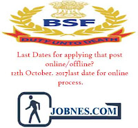 Border Security Force Recruitment 2017 for various posts  apply online here