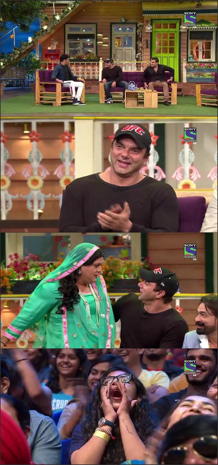 Screen Shot Of The Kapil Sharma Show 10th September 2016 Episode 41 300MB Watch Online
