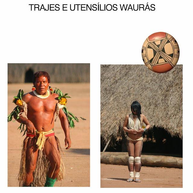 TRAJES E UTENSÍLIOS WAURAS1