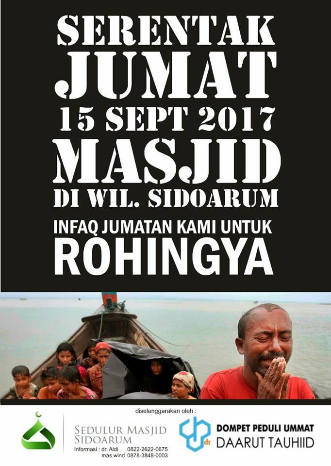 sms peduli rohingya