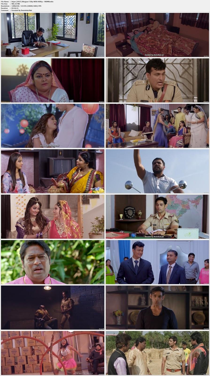 Arjun (2017) Bhojpuri 720p WEB-HDRip – 980MB Desirehub
