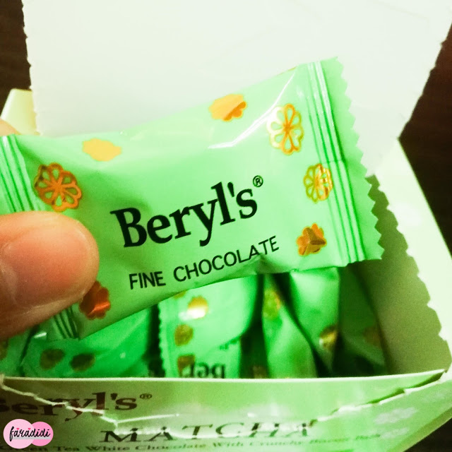Review Coklat Green Tea Beryl's