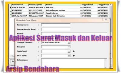 Aplikasi Surat Masuk Atau Keluar Format Excel
