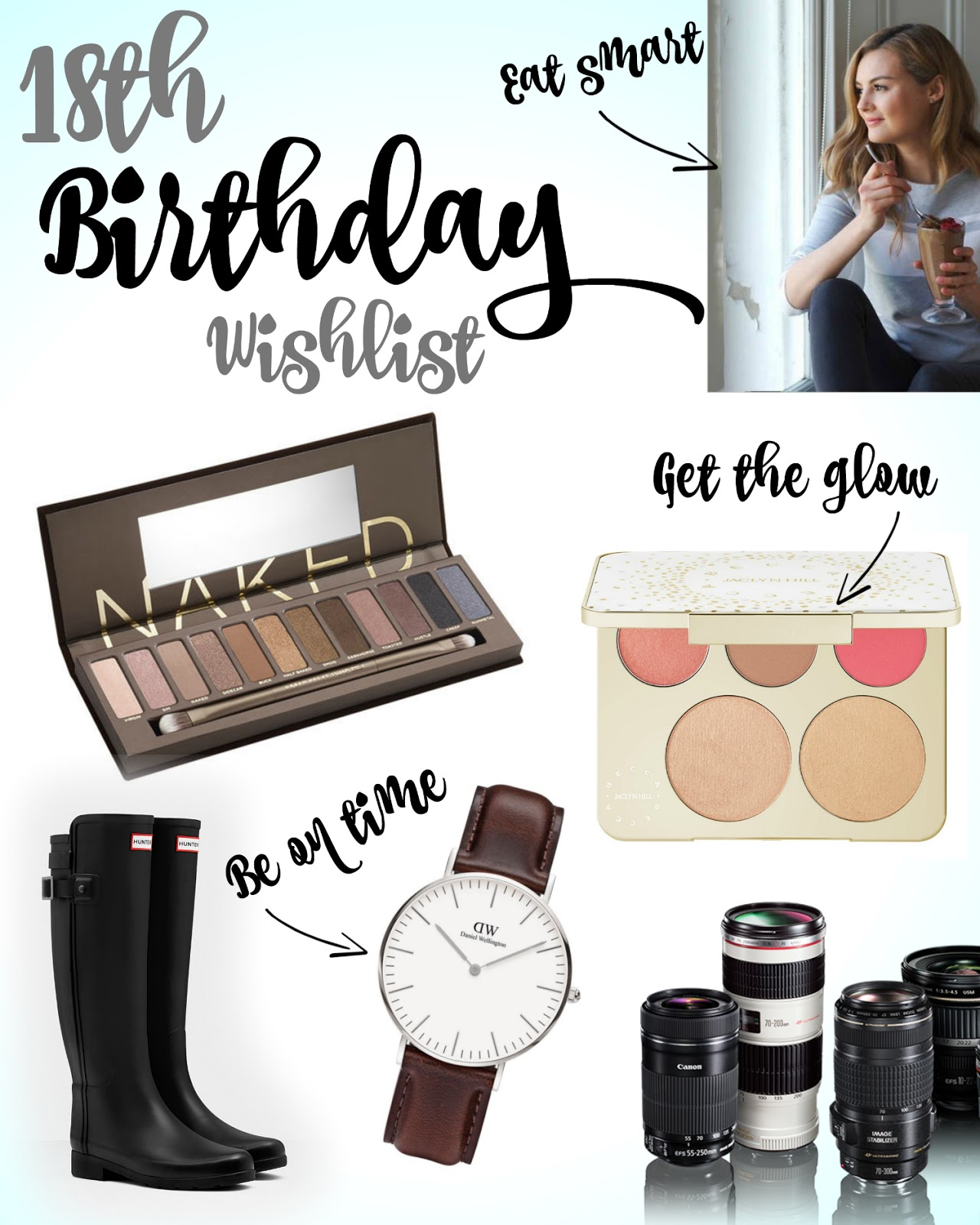 Wishlist, beauty, 18th birthday, jaclyn hill
