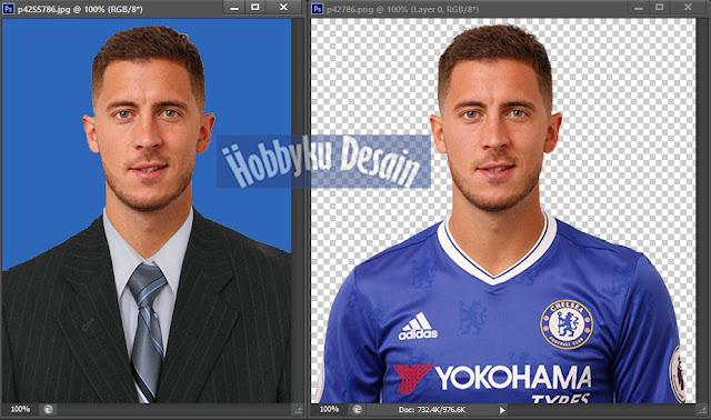 Cara Mengganti Baju Menjadi Jas Untuk Pas Foto Dengan Photoshop