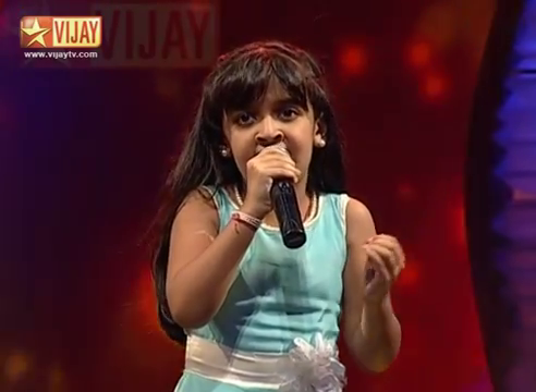 Super Singer Junior 13-11-014 A.R.Rahman – Minsara Kanna by SSJ03 Spoorthi Vijay Tv
