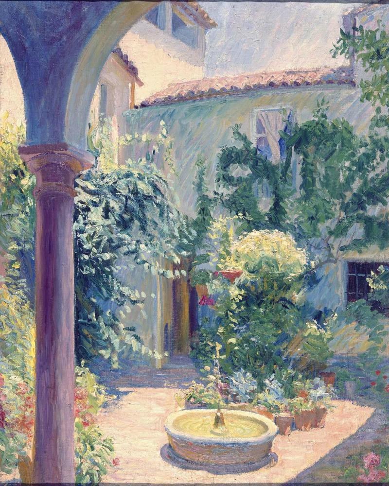 Patio de Córdoba, 1914 | Javier de Winthuysen y Losada
