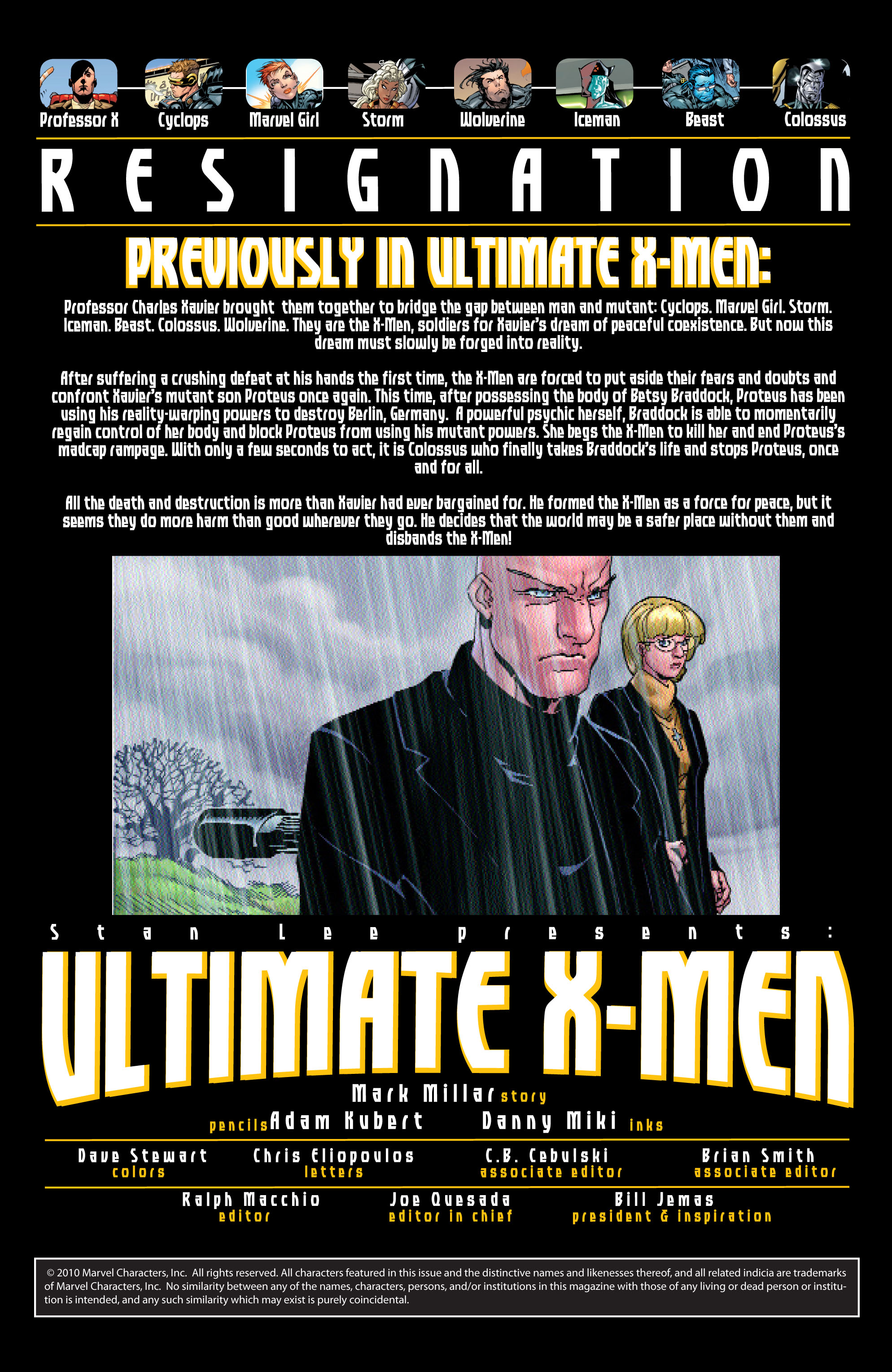 Read online Ultimate X-Men comic -  Issue #20 - 2