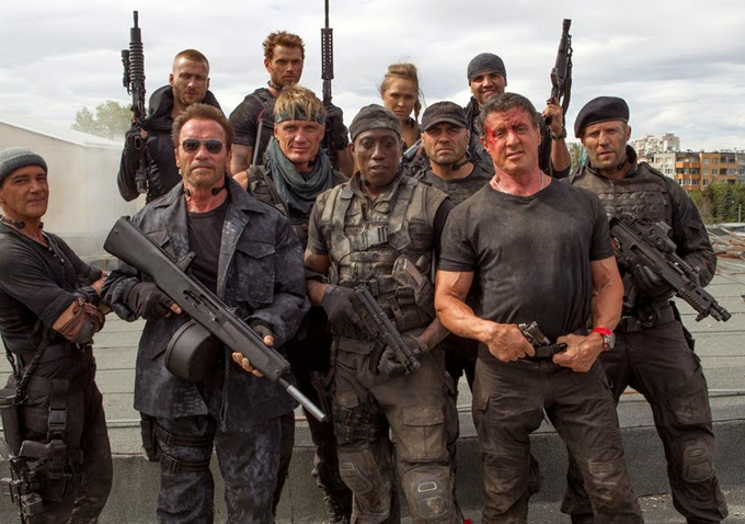 The Expendables 3 cast action movie Sylvester Stallone