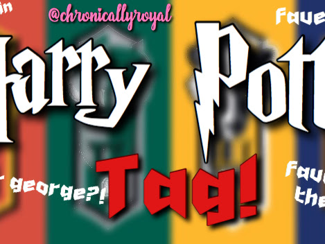 Harry Potter Blogger Tag!