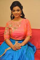 Nithya Shetty in Orange Choli at Kalamandir Foundation 7th anniversary Celebrations ~  Actress Galleries 098.JPG
