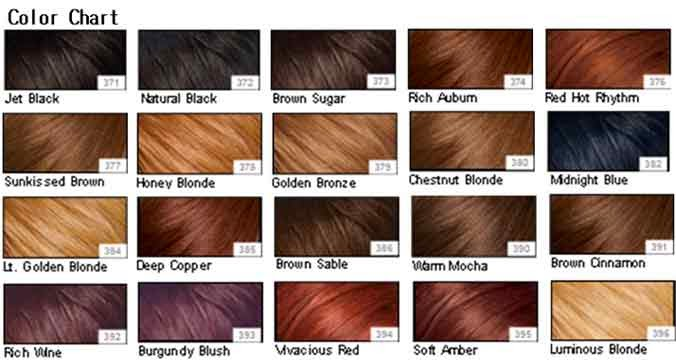 Hair Color Chart For Your Skin Tone Homeschoolingforfree